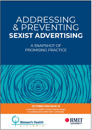 Addressing and preventing sexist advertising: a snapshot of promising practice cover image