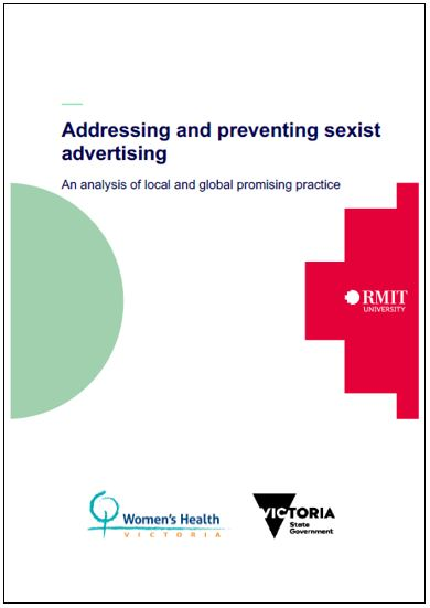 Addressing and preventing sexist advertising: an analysis of local and global promising practice cover image