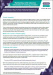 Partnering with industry: information for training providers cover image