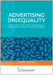 Advertising inequality issues paper front cover