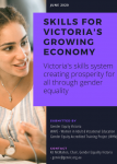 Front cover of submission to Skills for Victoria's Growing Economy Review