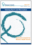Valuing sport and recreation submission