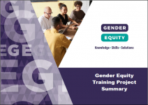 Gender Equity Training Project summary cover image